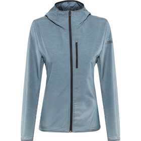 adidas TERREX Agravic Windweave Jacket Women legend ink/ash grey
